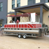 Aluminum pontoon & House & Work boat